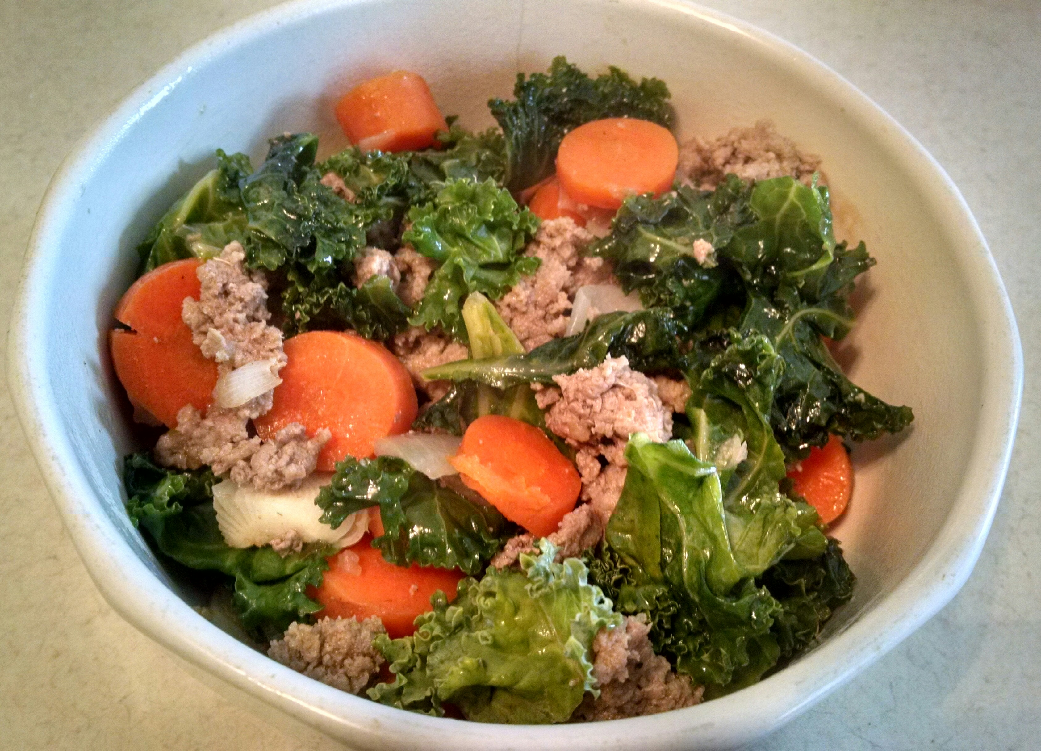 ... tomatoes and kale the perfect pantry turkey and kale fried rice recipe